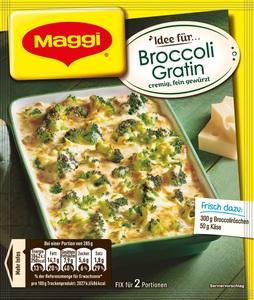 Maggi Idee für Broccoli Gratin 40 g