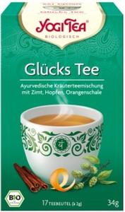 Yogi Tea Bio Glückstee 17x 2 g