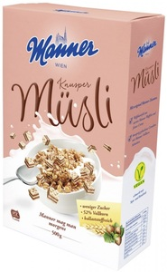 Manner Knusper Müsli 500 g