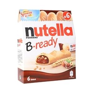 Nutella Waffelstangen