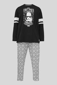 C&A Pyjama-Bio-Baumwolle-Star Wars, Schwarz, Größe: 6XL