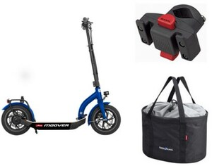 Moover Set inkl. Shopper Pro + Caddy Adapter