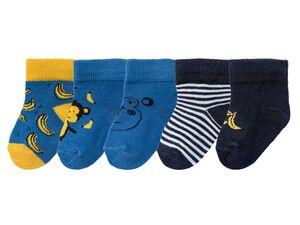 LUPILU® Baby Socken Jungen, 5 Paar, mit Baumwolle