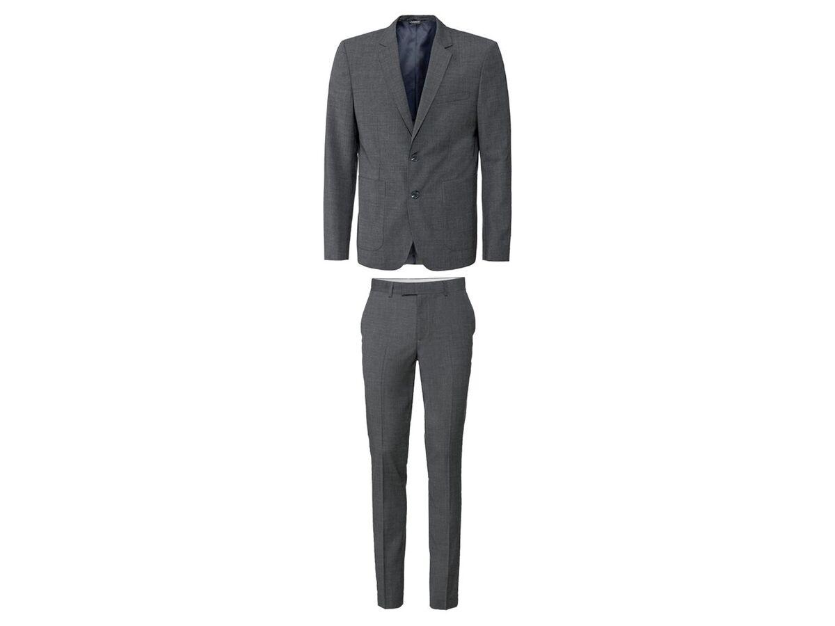 Bild 2 von LIVERGY® Anzug Herren, mit Gehschlitz, Brusttasche und Manschettenknöpfen
