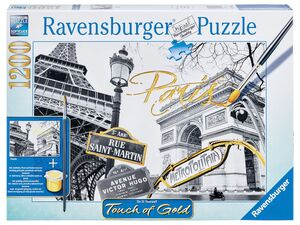 Ravensburger 1200 Teile Puzzle Touch of Gold