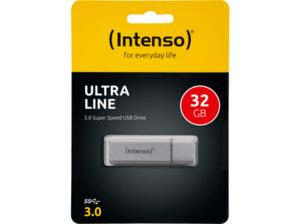 INTENSO  Ultra Line USB-Stick, Silber, 32 GB