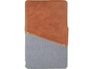 GECKO Limited Tablethülle, Bookcover, 10.1 Zoll, Braun, Grau