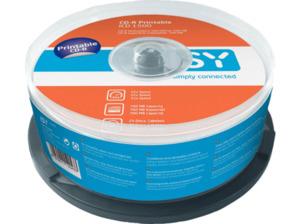 ISY ICD-1500 CD-R 25er Spindel printable CD-R