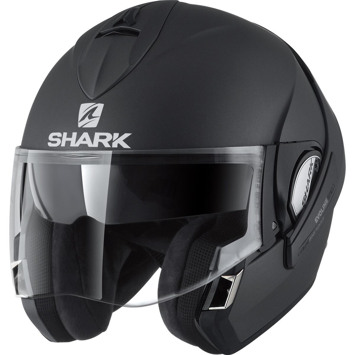 Bild 2 von Shark EvoLine Series 3 GT Klapphelm matt schwarz Größe XXL