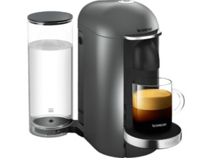KRUPS XN900T Nespresso Vertuo Plus Kapselmaschine, Titanium