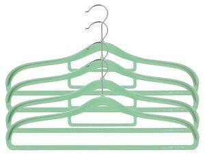 LIVARNO LIVING® Kleiderbügel Set, rutschfester Halt, textilschonende Beflockung