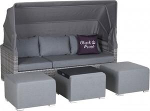 Primaster Lounge-Sofa St. Tropez inkl. Sitz- und Rückenkissen