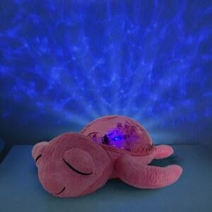 Cloud B Tranquil Turtle Nachtlicht und Beruhigungsfigur Schildkröte pink