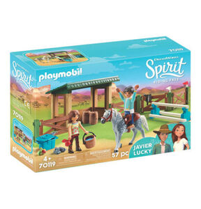 Playmobil® Spirit Riding Free - Reitplatz mit Lucky & Javier 70119