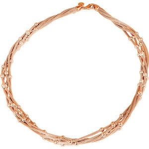 """Vandenberg Damen Collier """"65024509R"""", 925er Silber, rosévergoldet"""