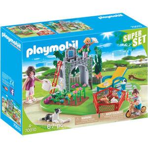 Playmobil® SuperSet - Familiengarten 70010