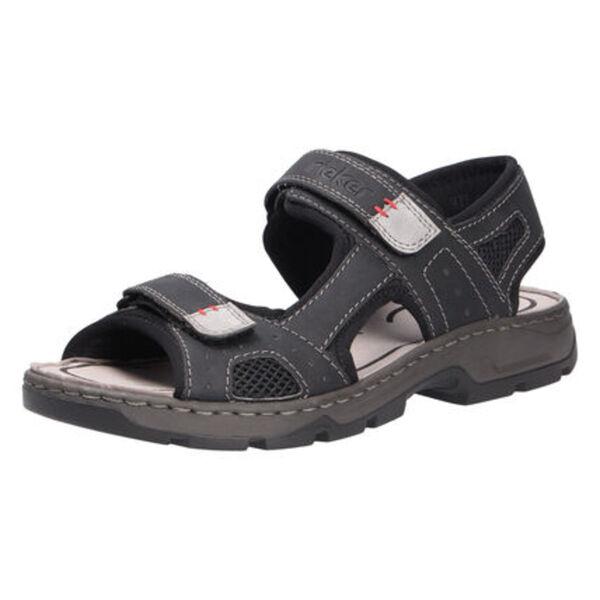 Rieker Sandale, Leder, für Herren
