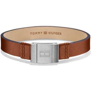 """Tommy Hilfiger Herren Armband Men´s Casual """"2700949"""", Leder/Edelstahl"""