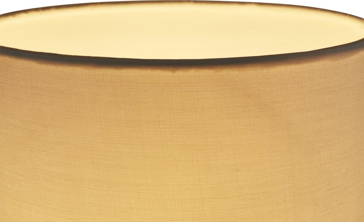 Bild 5 von Tischleuchte, 1-flammig, Stoffschirm weiß