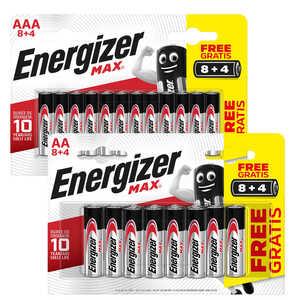 ENERGIZER  Alkaline-Batterien AA oder AAA