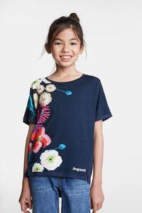 T-Shirt Blumenmuster