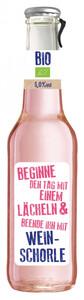 Bio-Weinschorle rosé, lieblich