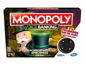 Hasbro Gaming Monopoly Voice Banking