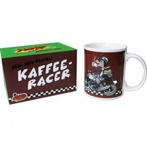 """MOTOmania Tasse """"Kaffee-Racer"""""""