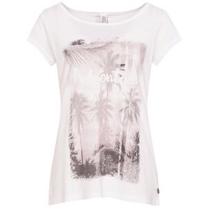 Damen T-Shirt mit Knopfleiste im Rücken