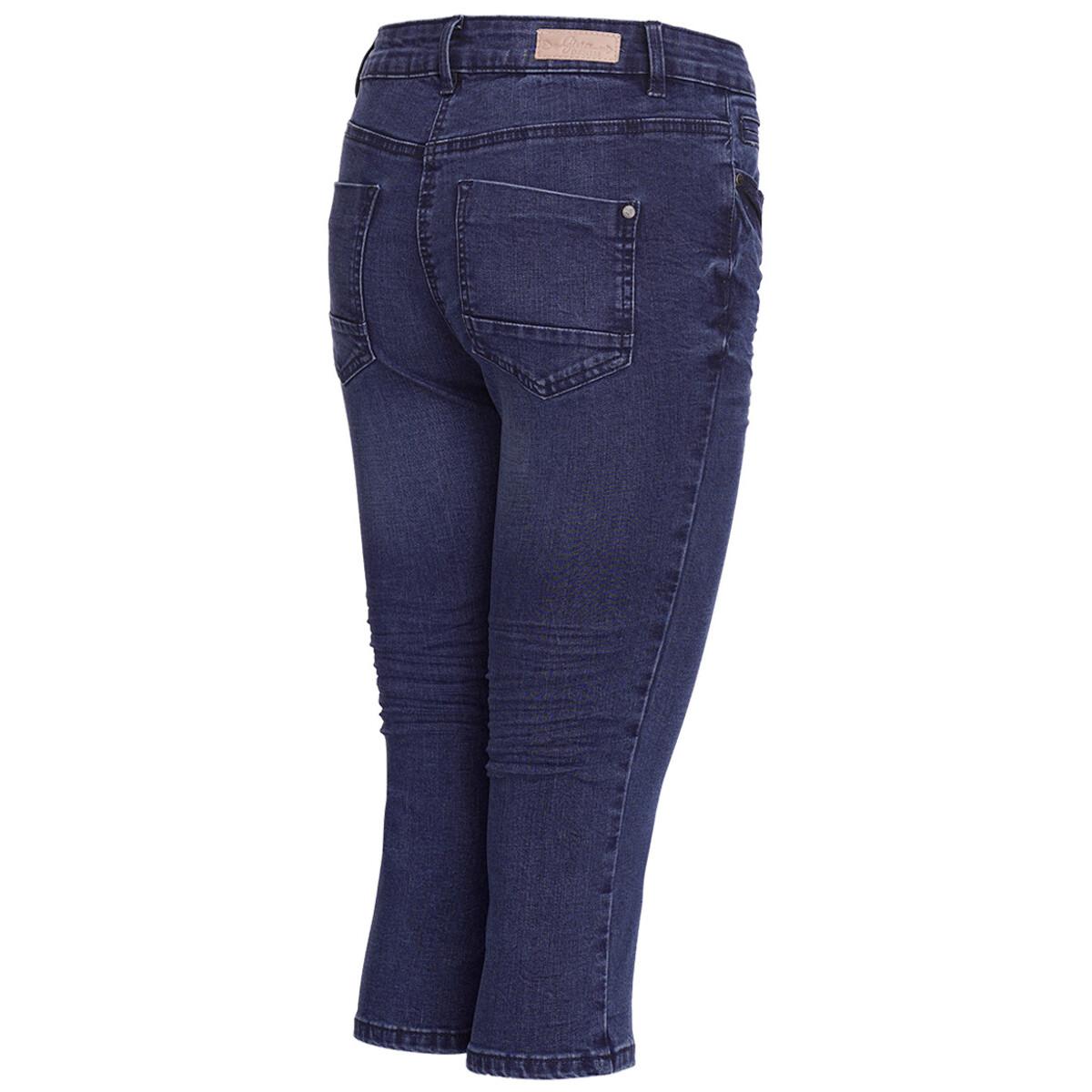 Bild 3 von 3/4 Damen Slim-Jeans im Five-Pocket-Style