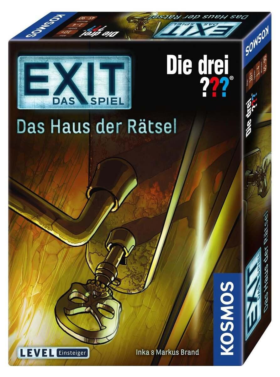 Bild 1 von Kosmos EXIT - Das Spiel - Die drei ??? Das Haus der Rätsel
