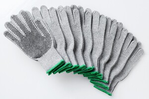 Kraft Werkzeuge Arbeits- Handschuhe 10er Pack hellgrau