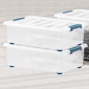 "Domopak Living Rollenbox ""Katla"" inkl. Deckel, 28L - 2er Set"