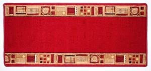 """Bella Casa Teppichläufer """"Aspen"""" ca. 67x150 cm - Rot"""