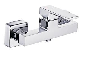 Schütte Design-Duscharmatur TOKYO II Einhebelmischer mit Brauseschlauchanschluss Badarmatur Chrom