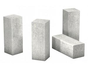 Eckstäbchen für Laminat-Sockelleiste Sichtbeton ca. 22 x 22 x 60 mm