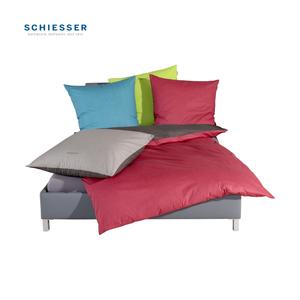 Renforcé-Wende-Bettwäsche zweifarbig, 100 % Baumwolle,  versch. Größen, ab