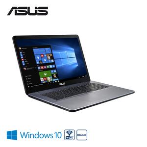 Notebook F705QA-BX031T · Slim HD+-Display · AMD Quad Core A12-9720P Prozessor (bis zu 2,7 GHz) · AMD Radeon R7 Graphics · 2 x USB 2.0 (Type A), 1 x USB 3.2 Gen 1 (Type A), 1 x USB 3.2 Gen 1 (Type