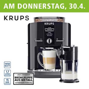 Kaffee-Vollautomat One Touch Cappuccino Latt´Espress EA8298 • autom. Milchsystem- Reinigungsprogramm • abnehmbarer Milchbehälter • Claris-Aqua-Filtersystem