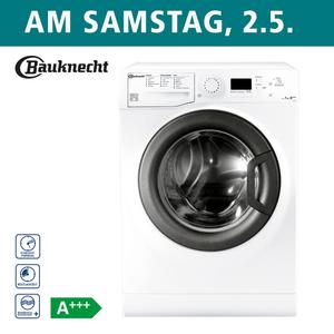 Waschautomat EW 7F4 • Wolle wie von Hand gewaschen • Programme: u. a. Anti-Allergie-Plus-, Kurz-, Express- und Babyprogramm • Auto-Clean - Selbstreinigungs-Funktion • Maße: H 85,0 x B 59,5 x