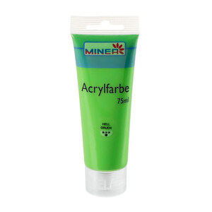 Minea Acrylfarbe in Hellgrün 75 ml