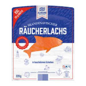 ALMARE     Skandinavischer Räucherlachs XXL