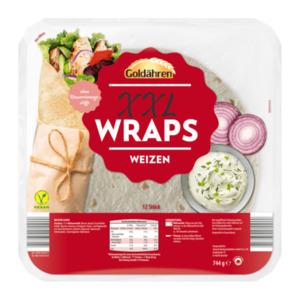 GOLDÄHREN     XXL Wraps