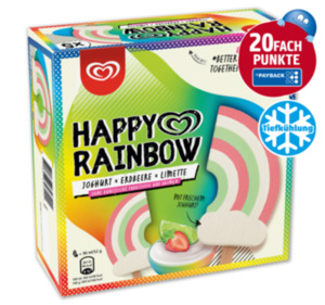 LANGNESE Stieleis Happy Rainbow
