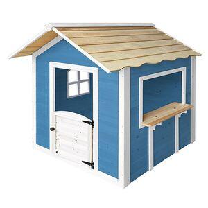 """Home Deluxe Spielhaus """"Der große Palast"""" blau, ohne Bank"""
