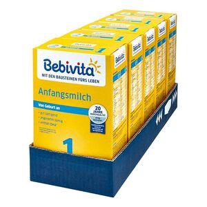 Bebivita 1 Anfangsmilch 500 g, 5er Pack