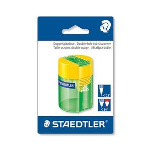 Staedtler Schulmaterialien - Dosenspitzer gelb/grün
