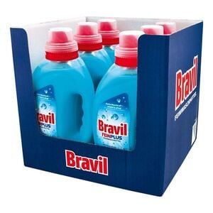 Bravil Feinwaschmittel Fein Plus 37 WL, 6er Pack