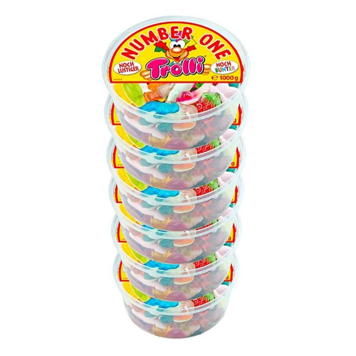 Bild 1 von Trolli Fruchtgummi 1 kg, 6er Pack