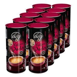 Cafet Espresso 20 Pads 144 g, 10er Pack